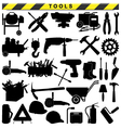 Tool Pictograms vector image vector image