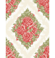 vintage seamless floral wallpaper vector image vector image