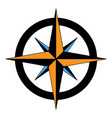 compass rose icon logo template vector image