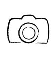 digital photo camera hand drawing icon logo stock vector image vector image
