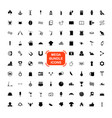 exclusive mega bundle icons pack collection vector image vector image