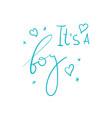 handwriting words vector image
