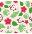 Hawaiian seamless pattern vintage vector image vector image