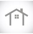 Home black icon vector image vector image