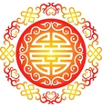 oriental chinese ornament asian traditional vector image vector image