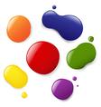 Paint Splotches vector image
