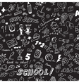 School seamless pattern vector image vector image