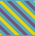 tile blue violet and yellow stripes pattern vector image