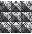 3d tiles geometric seamless pattern vector image