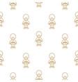 british royal guardsman seamless pattern vector image vector image