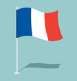 Flag of France Official national symbol national vector image vector image