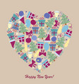 happy new year 1-04 vector image vector image