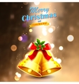Jingle bells for Christmas decoration vector image vector image