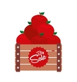 sale of farm products vector image