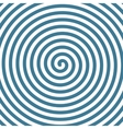 Spiral hypnotic background vector image