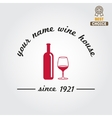 Badge or label for wine winery or wine house