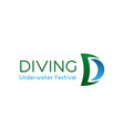 diving underwater festival vector image