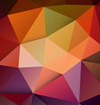 Modern colorful polygon background vector image vector image