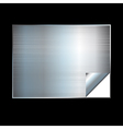 Silver gradient background vector image vector image