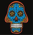 Skull4 vector image vector image