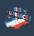 bastille day independence day of france symbols vector image vector image