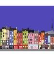 Cityscape Honfleur vector image vector image