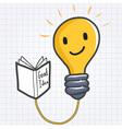 GoodIdea bulb vector image vector image