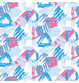 hand painted stylish seamless pattern vector image