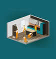 renovation interior home repair construction vector image