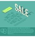 sale card business background concept desig vector image vector image