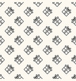 seamless geometric pattern with flat gift vector image vector image