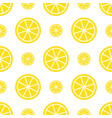 seamless lemon pattern bright yellow fruit vector image