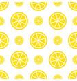 seamless lemon pattern bright yellow fruit vector image vector image