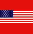 usa flag icon official symbol united states vector image