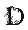 Set of Isolated stylized calligraphic vector image