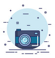 camera photo online web app digital icon vector image vector image