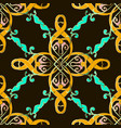 colorful ethnic style seamless pattern vintag vector image vector image