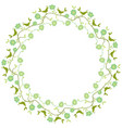 decorative circle vector image vector image
