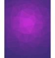 Violet Poligon Vertical Background vector image