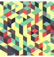 Abstract geometrical 3d colorful background Can vector image vector image