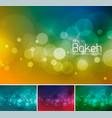 blur and bokeh duotone 1 vector image vector image