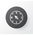 compass icon symbol premium quality isolated vector image vector image