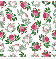 decorative rose vector image vector image