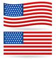 flag of united states editable vector image vector image