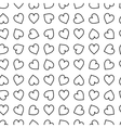 monochrome background Hand drawn ornament vector image vector image