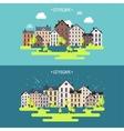 Spring summera City vector image vector image