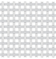 Seamless Rope Or Thread Pattern vector image