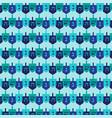 dreidel pattern vector image vector image