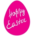 Easter egg - Happy Easter vector image vector image
