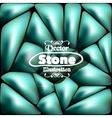 Stone blue background for your ideas vector image